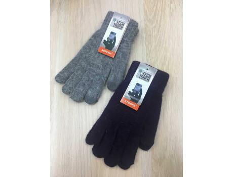 Перчатки женские Корона шерстяные сенсорные пальцы G7324-5