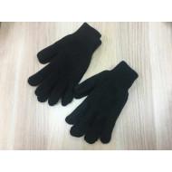 Вязанные мужские перчатки зимние Омские оптом