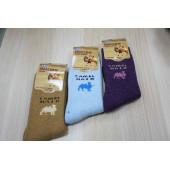 Носки женские DMDBS из верблюжьей шерсти В16-003 оптом