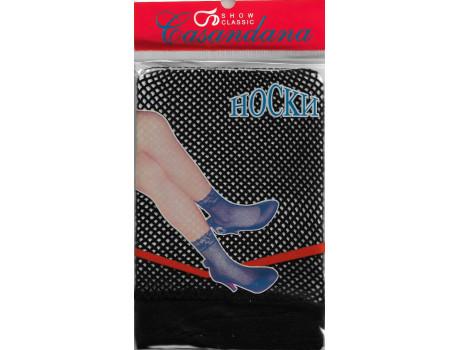 Носки женские Casandana капроновые в сеточку-1