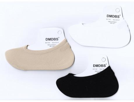 Следки женские Dmdbs капроновые с силиконом В17-81