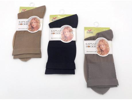 Носки женские Naris Бархат капроновые плотные
