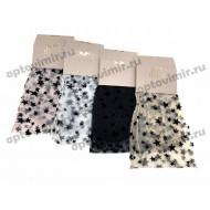 Носки женские Нарис капроновые рис. звезды К216 оптом