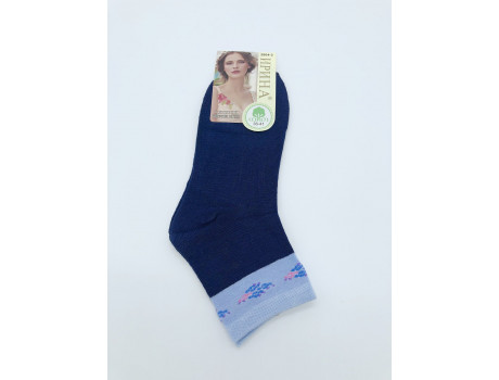 Носки женские Ирина средней длины с узором на голяшке 2804-3 -1
