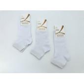 Носки женские Калинов белые короткие летние оптом