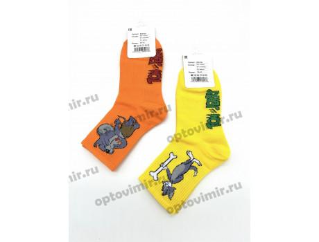 Носки унисекс Turkan Том и Джерри средней длины яркие 6780-1