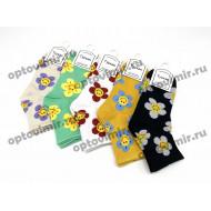 Носки женские Turkan ромашки 6804 оптом