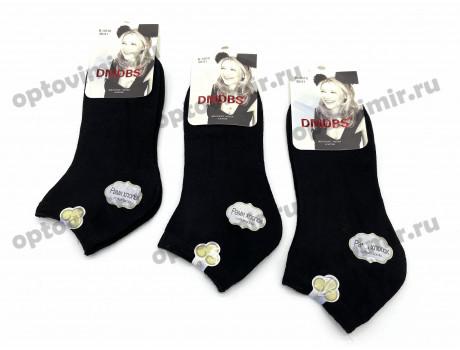 Носки женские Dmdbs хлопок короткие черные В5010