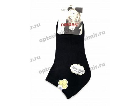 Носки женские Dmdbs хлопок короткие черные В5010-1