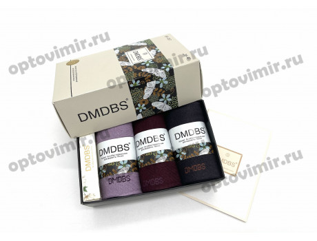 Носки женские Dmdbs ароматизированные в коробке 3 пары + мыло BF-267