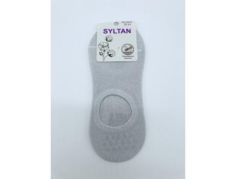 Следики женские Syltan однотонные с круглым вырезом 2675-1