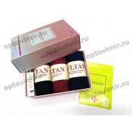 Носки женские Syltan арома в коробке с парфюмом 2650F оптом