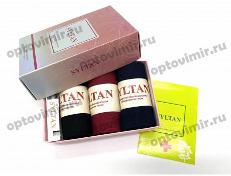 Носки женские Syltan ароматизированные в коробке + парфюм 2650F