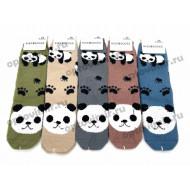 Носки женские Грация рис. панды 2315 оптом