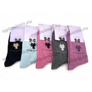 Носки женские Dmdbs премиум шерсть В16-008 оптом