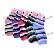 Женские теплые носки травка КУ АВ-3 оптом