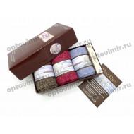 Носки женские RoeRue арома в коробке 3 пары 2931 оптом