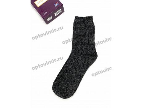 Носки женские RoeRue собачья шерсть в коробке 3 пары + мыло 2930-1