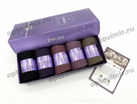 Носки женские Dmdbs кашемировые в коробке 5 пар В20-80