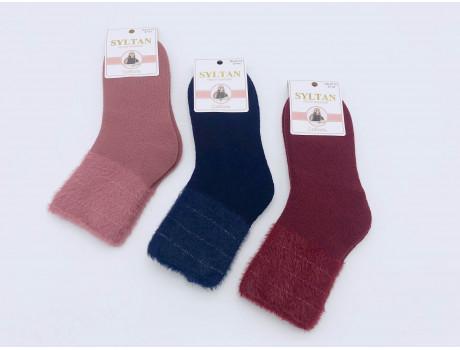 Носки женские соболиные с люрексом Султан 2712