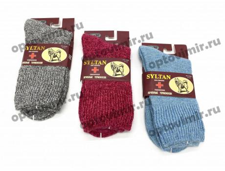 Носки женские Syltan вязанные медицинские собачья шерсть 2266