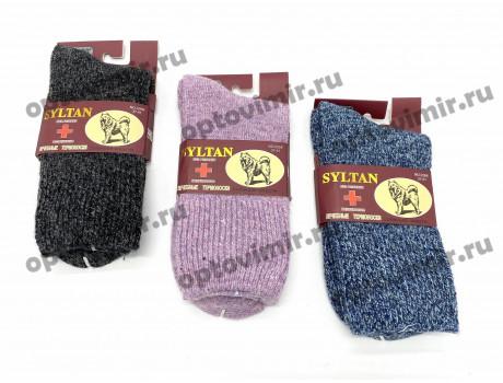Носки женские Syltan вязанные медицинские собачья шерсть 2266-1