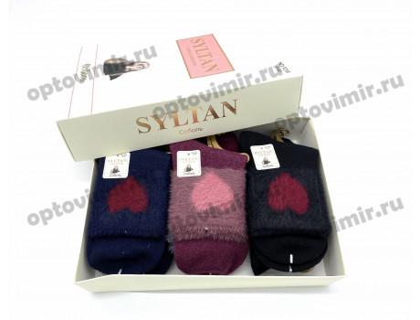 Носки женские Syltan соболь рис. сердечко 1215