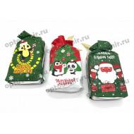 Носки унисекс Turkan новогодние сумочки 7611 оптом