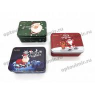 Носки Turkan новогодние в коробке 7888 оптом